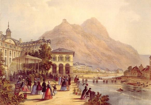 Бад Эмс в 18 веке